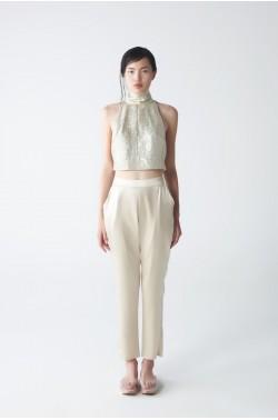 Yera Silk Trousers