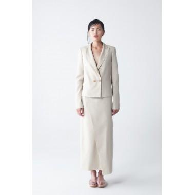 Nava Organic Linen Skirt