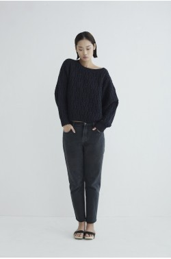 Pina Knit Sweater Anthracite