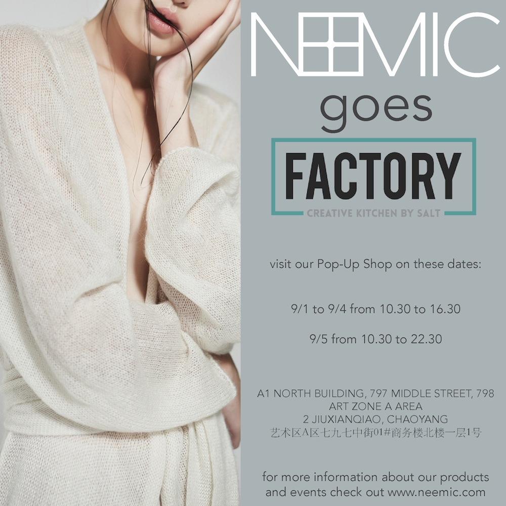 Pop-up Sales at FACTORY in 798