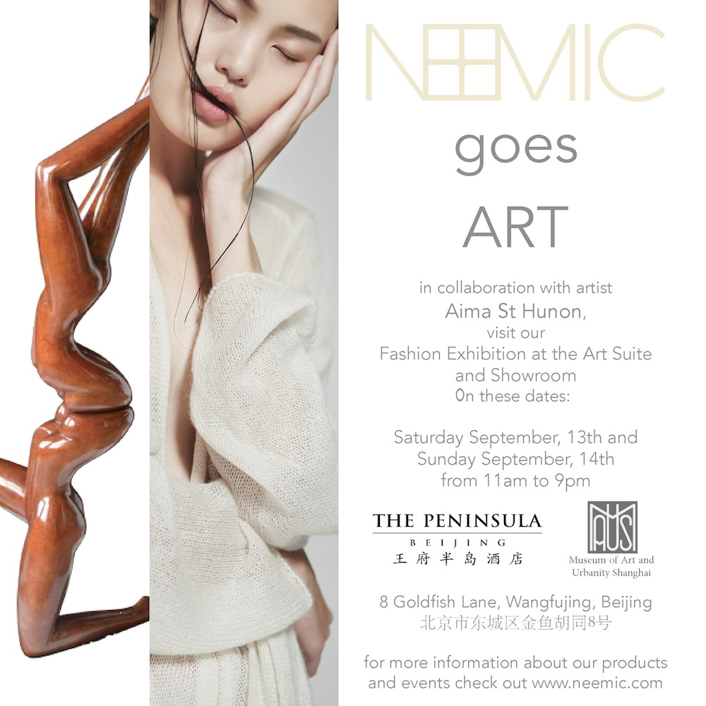 Joint-exhibition Aima St Hunon and NEEMIC at Peninsula
